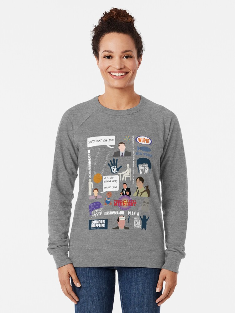 Alternate view of The US Office Collection Lightweight Sweatshirt