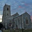 St Mary's Church Happisburgh by Avril Harris