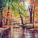 New Forest Stream by Ann Mortimer