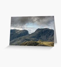 Scafell and Scafell Pike Greeting Card