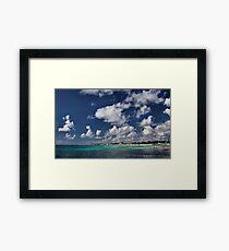 Beach near Playa de Carmen Framed Print