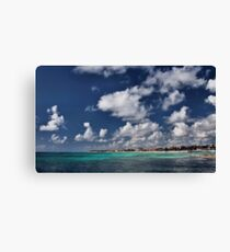 Beach near Playa de Carmen Canvas Print