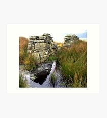 Wall and Water, Yorkshire Dales Art Print