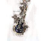 « Guitare rock and love » par Chrystelle Hubert