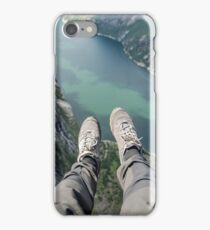 Above the fjord iPhone Case/Skin