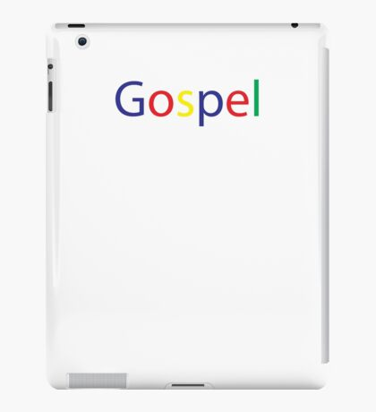 Gospel in Google Colors iPad Case/Skin