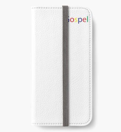 Gospel in Google Colors iPhone Wallet