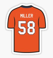 Von Miller Jersey - Orange Edition Sticker