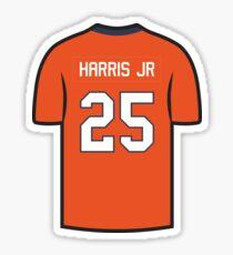 Chris Harris Jr. Jersey - Orange Edition Sticker