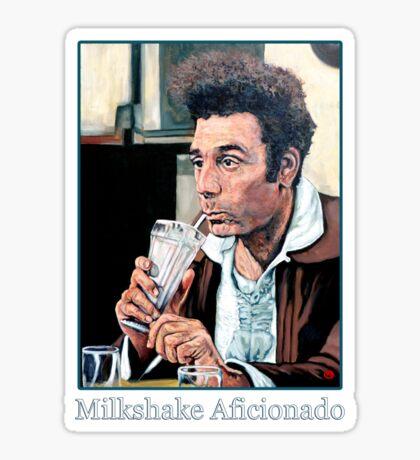 Milkshake Aficionado Sticker