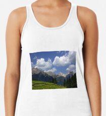 Camiseta con espalda nadadora Clouds in the Dolomites