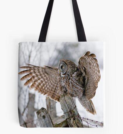 Great Grey Owl - Dunrobin, Ontario Tote Bag