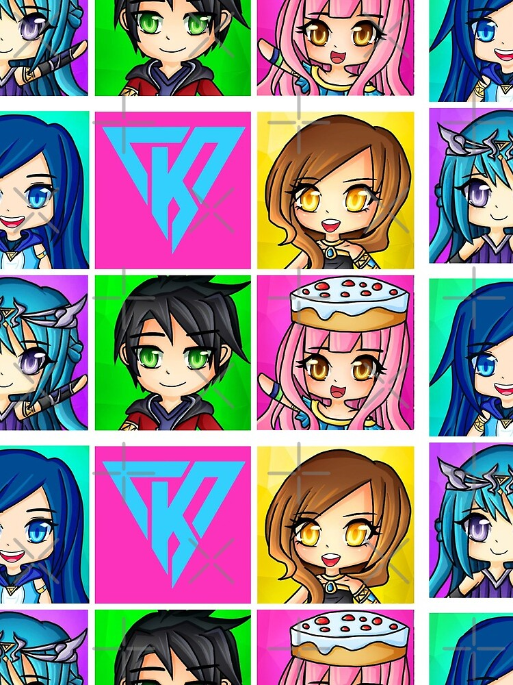 Funneh and the Krew Anime Style by TheBeatlesArt