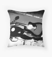 Man's Best Friends Throw Pillow