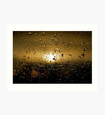Rainy Day #12 Art Print