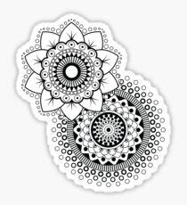 Mandala Flower duplo Sticker
