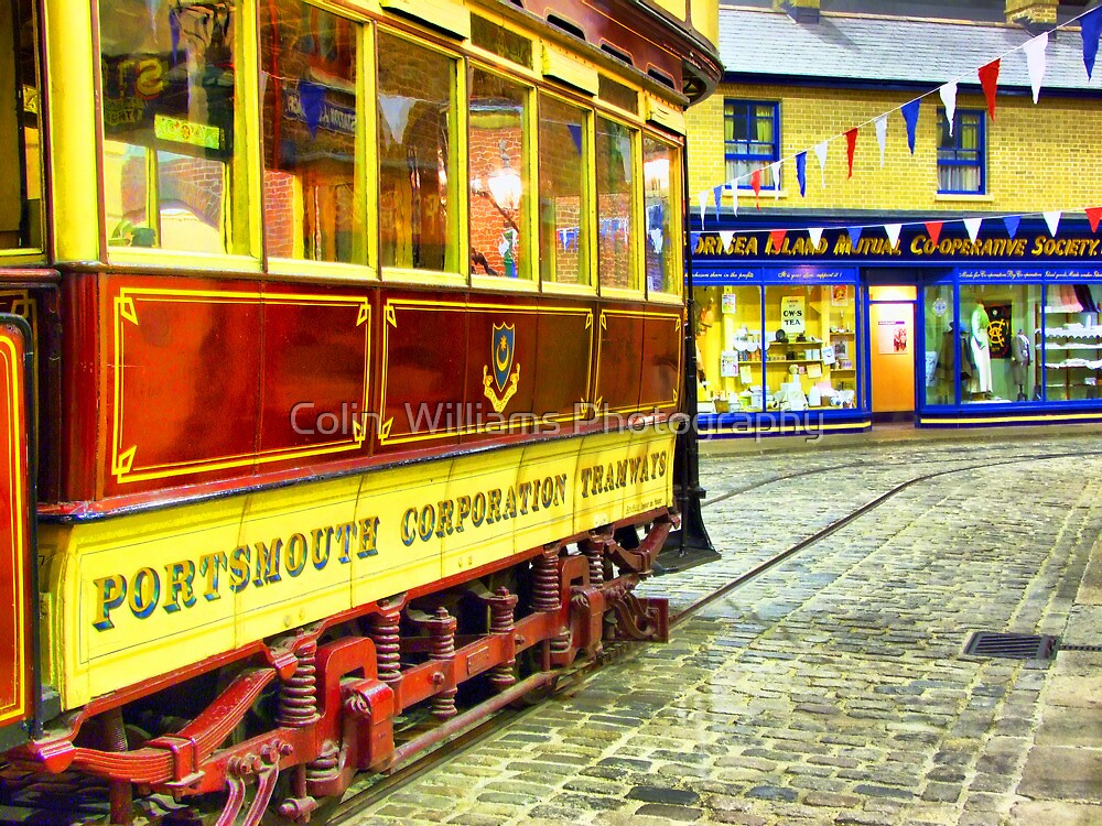 Tram To The Co-Op - HDR by Colin  Williams Photography