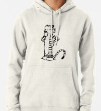 Calvin and Hobbes- Hobbes Pullover Hoodie
