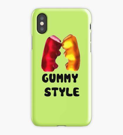 Gummy style iPhone Case