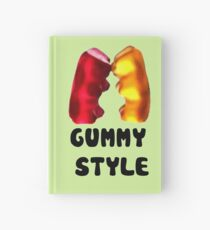 Gummy style Hardcover Journal
