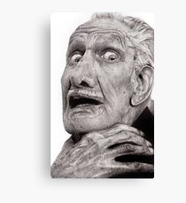Portrait of Vincent Price Canvas Print