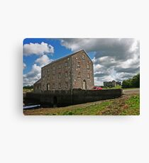 Carew Mill and Castle Canvas Print