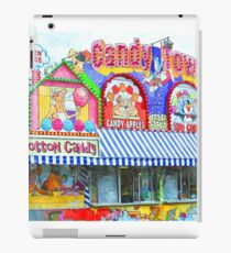 Fair Time With Cotton Candy iPad Case/Skin