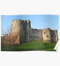 Chepstow Castle Poster