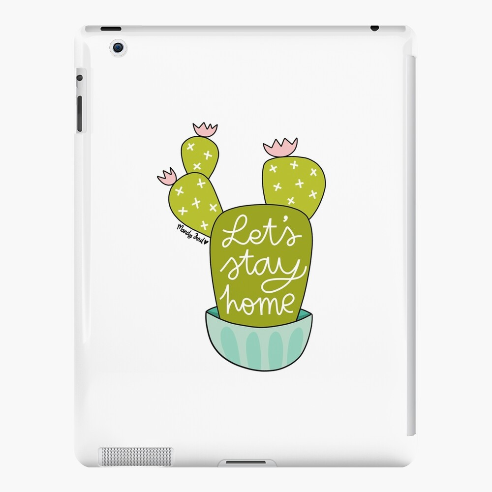 Let's Stay Home iPad Case & Skin