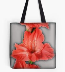 gladiola in pastel tones Tote Bag