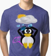 Oh No! It's Raining - T-shirt, etc.design Tri-blend T-Shirt