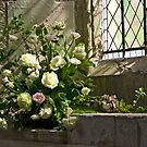Church Flowers by Linda Marques