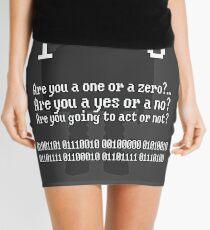 Life is Binary Mini Skirt