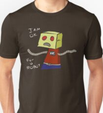 OK ROBOT Slim Fit T-Shirt