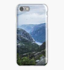 Fjord landscape iPhone Case/Skin