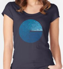 Almighty Ocean Women's Fitted Scoop T-Shirt