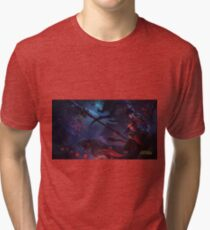 Warring Kingdom Nidalee 4K resolution Tri-blend T-Shirt