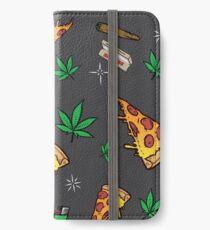 Fiesta de pizza 420 Vinilo o funda para iPhone