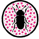 Pink Erotylidae by Wild Green Memes Store