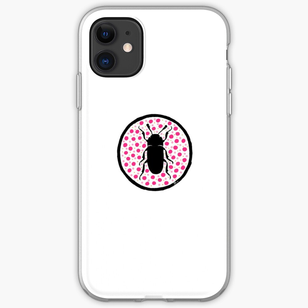 Pink Erotylidae iPhone Soft Case