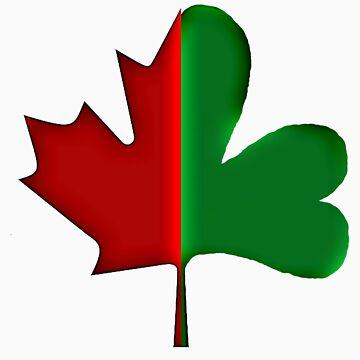Irish Canadian/Canadian Irish 3-D by marsmercer