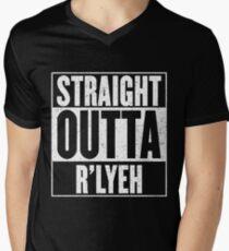 Straight Outta Rlyeh Men's V-Neck T-Shirt