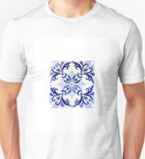 tiles pattern VI - Azulejos, Portuguese tiles Unisex T-Shirt