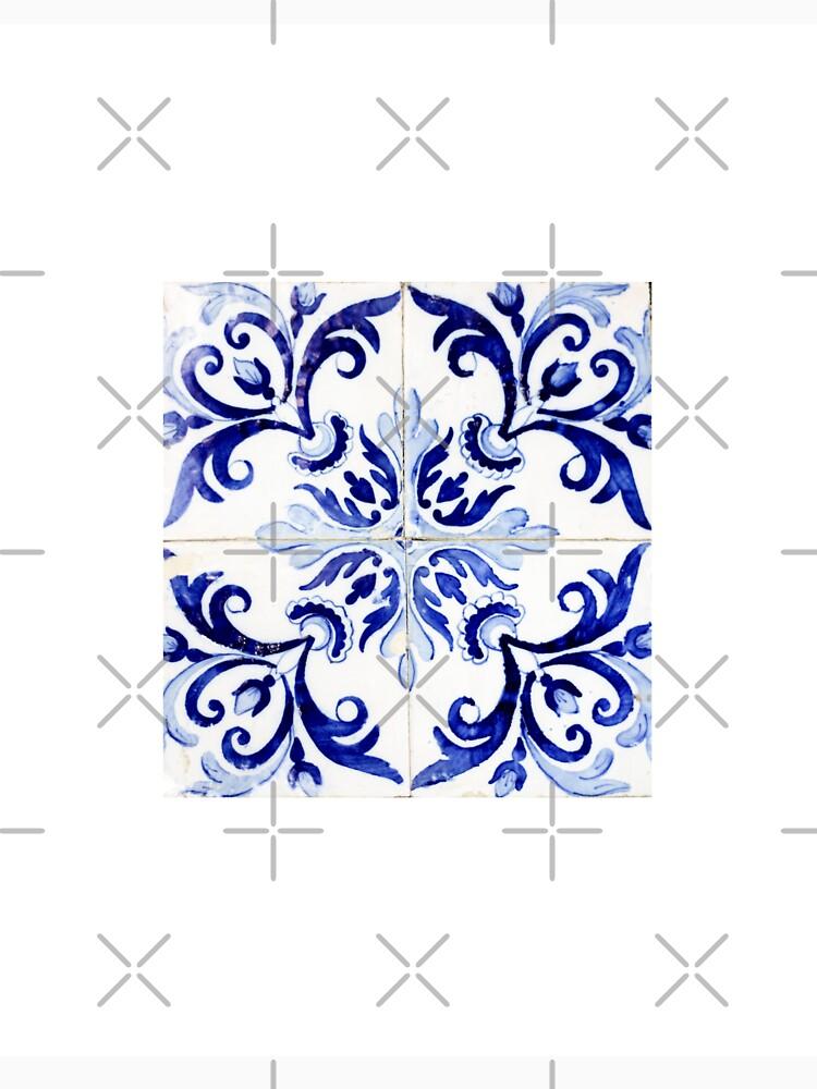 tiles pattern VI - Azulejos, Portuguese tiles by Ingz