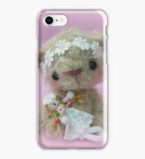 Little Gracie - Handmade bears from Teddy Bear Orphans iPhone Case/Skin