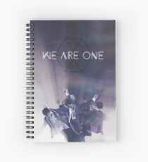 We Are One Spiral Notebook