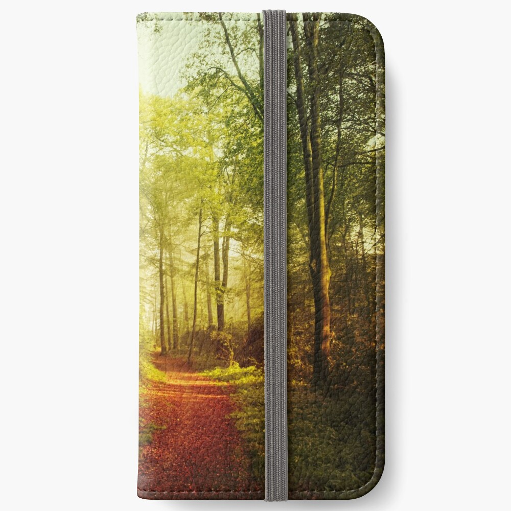 October Forest iPhone Wallet