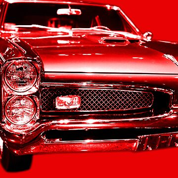 Pontiac GTO Red by wingtong168