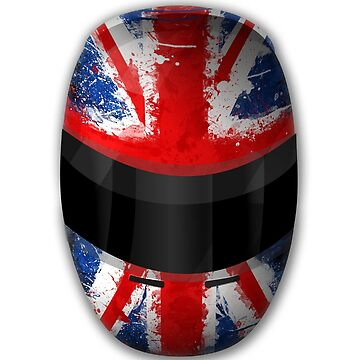 F1 Drivers Helmet - United Kingdom Design by InCodeDesign
