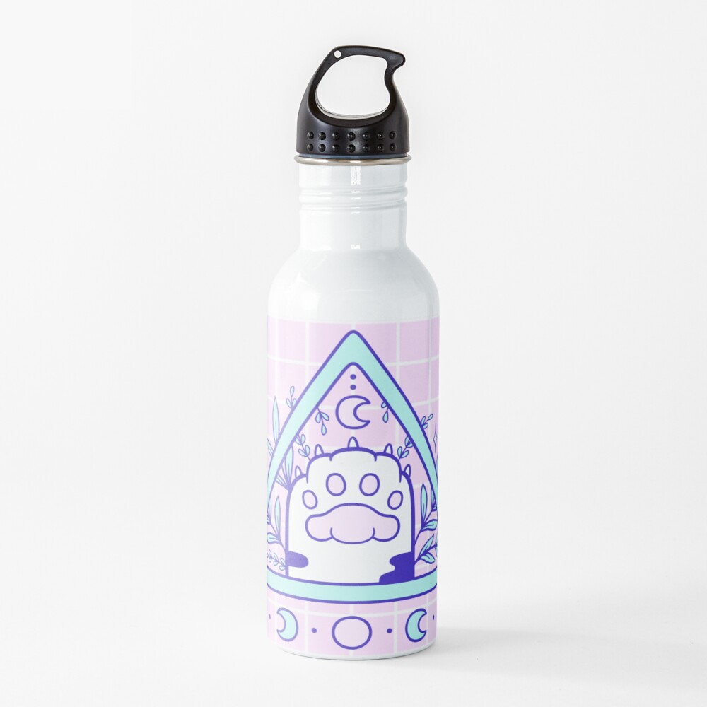 Witchy Cat Paw 03 Water Bottle